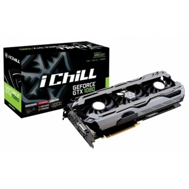 Видеокарта INNO3D GeForce GTX 1080 1759MHz PCI-E 3.0 8192MB 10400MHz 256 bit DVI HDMI HDCP