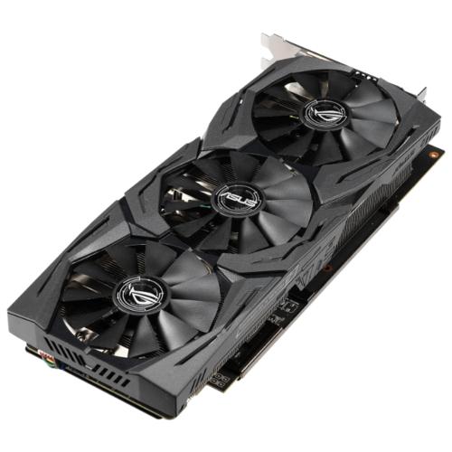 Видеокарта ASUS Radeon RX 590 1545MHz PCI-E 3.0 8192MB 8000MHz 256 bit DVI 2xHDMI HDCP Strix Gaming