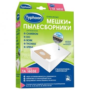 Тайфун Бумажные мешки-пылесборники TA 1603E