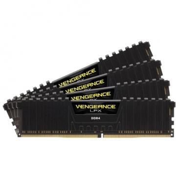 Оперативная память 16 ГБ 4 шт. Corsair CMK64GX4M4A2400C16