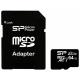 Карта памяти Silicon Power ELITE microSDXC 64GB UHS Class 1 Class 10 + SD adapter