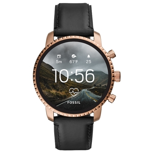 Часы FOSSIL Gen 4 Smartwatch Explorist HR (leather)