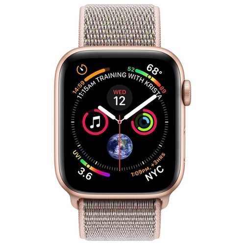 Часы Apple Watch Series 4 GPS + Cellular 44mm Aluminum Case with Sport Loop