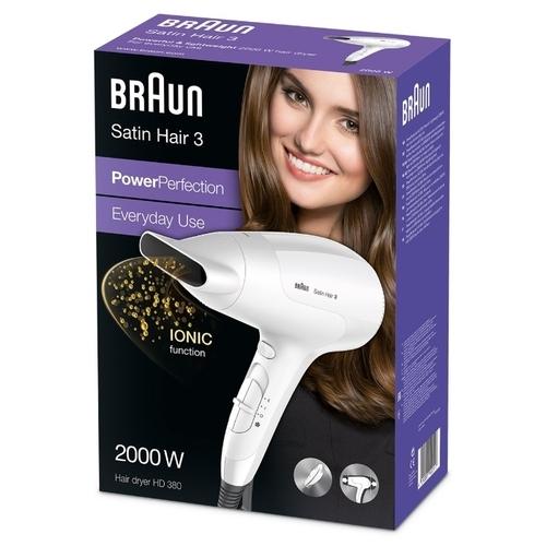 Фен Braun HD 380 Satin Hair 3