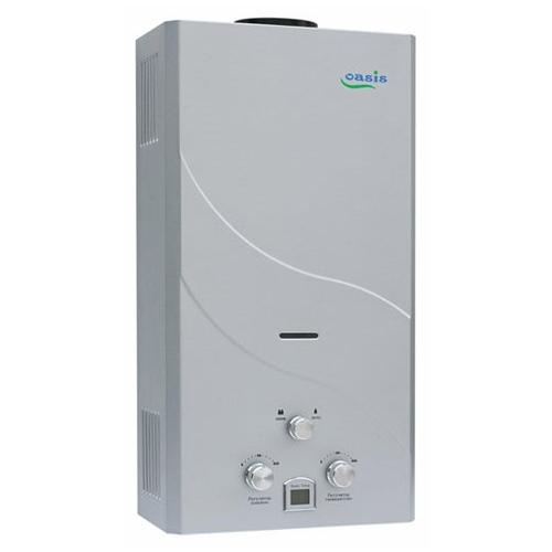 Проточный газовый водонагреватель Oasis 16 кВт сталь