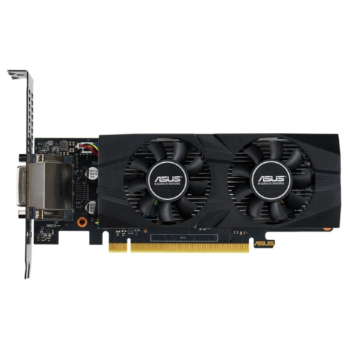 Видеокарта ASUS GeForce GTX 1650 1485MHz PCI-E 3.0 4096MB 8002MHz 128 bit DVI DisplayPort HDMI HDCP OC Low Profile