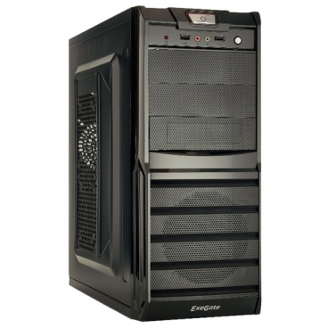 Компьютерный корпус ExeGate XP-329S 400W Black