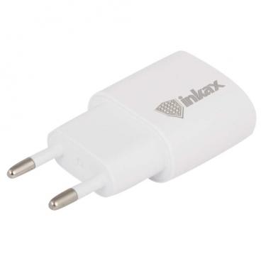 Сетевая зарядка Inkax CD-08 + кабель Lightning