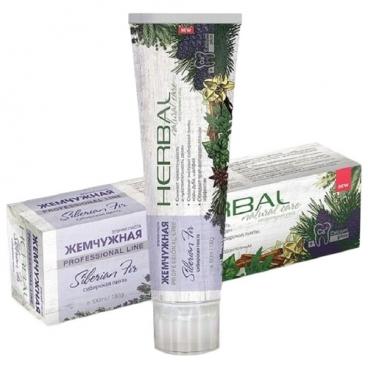 Зубная паста Жемчужная Herbal Сибирская пихта