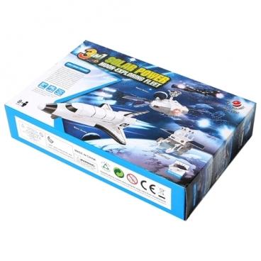 Электронный конструктор CuteSunlight Toys Factory 2135 Лунный флот на солнечной энергии