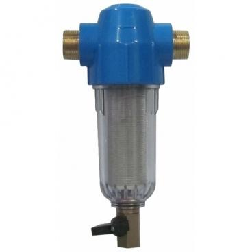 Фильтр механической очистки Гейзер Хит 32585 муфтовый (НР/НР), ПВХ, со сливом