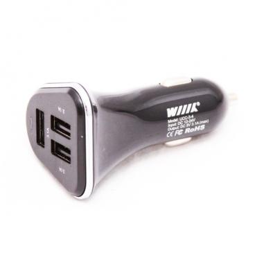 Автомобильная зарядка WIIIX UCC-3-4