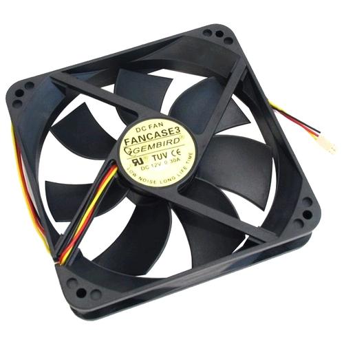 Система охлаждения для корпуса Gembird FANCASE3