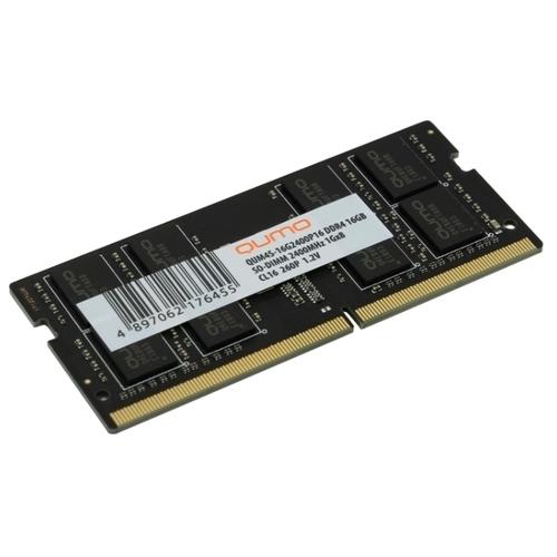 Оперативная память 16 ГБ 1 шт. Qumo QUM4S-16G2400P16