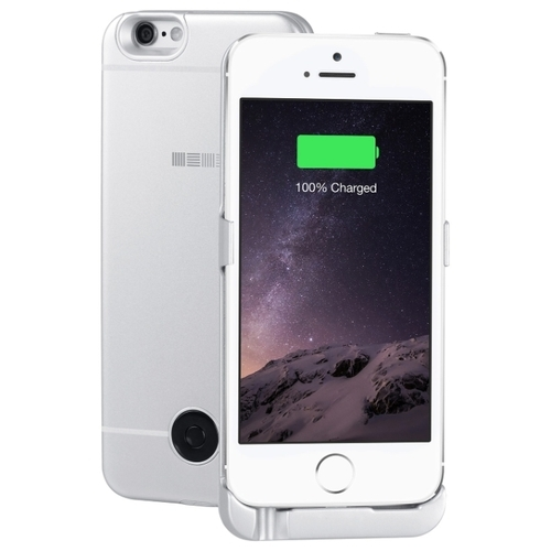 Чехол-аккумулятор INTERSTEP Metal battery case для iPhone 5/5S/SE