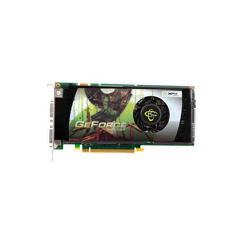 Видеокарта XFX GeForce 9600 GT 650Mhz PCI-E 2.0 512Mb 1800Mhz 256 bit 2xDVI TV HDCP YPrPb Cool