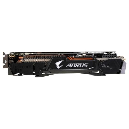 Видеокарта GIGABYTE GeForce GTX 1080 Ti 1632MHz PCI-E 3.0 11264MB 11448MHz 352 bit DVI 3xHDMI HDCP Aorus Xtreme Edition