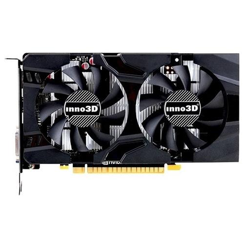 Видеокарта INNO3D GeForce GTX 1050 Ti 1290MHz PCI-E 3.0 4096MB 7000MHz 128 bit DVI HDMI HDCP Twin X2
