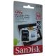 Карта памяти SanDisk Ultra microSDXC Class 10 UHS-I 80MB/s 64GB + SD adapter