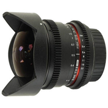 Объектив Samyang 8mm T3.8 AS IF UMC Fish-eye CS II VDSLR Canon EF""