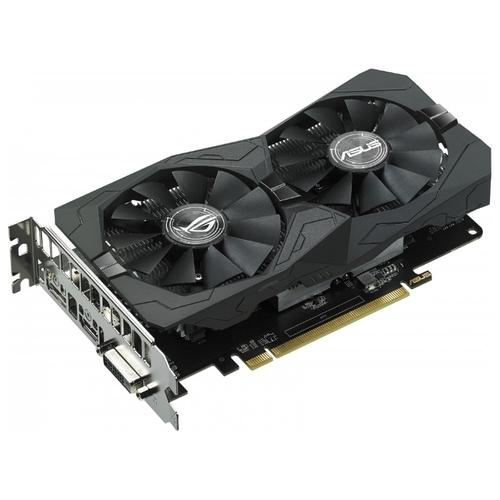 Видеокарта ASUS ROG Radeon RX 560 1275Mhz PCI-E 3.0 4096Mb 7000Mhz 128 bit DVI DisplayPort HDMI HDCP Strix Gaming