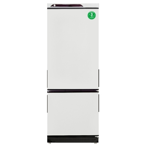 Холодильник Саратов 209 белый с черными накладками