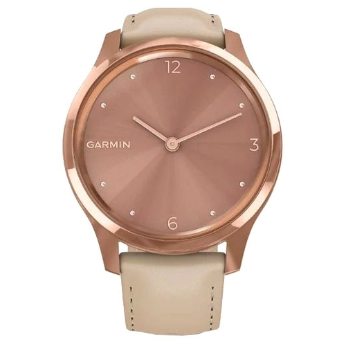 Часы Garmin Vivomove Luxe (leather)