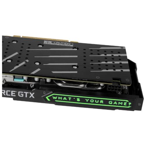 Видеокарта KFA2 GeForce GTX 1660 Super 1830MHz PCI-E 3.0 6144MB 14000MHz 192 bit DVI HDMI DisplayPort HDCP EX 1-Click OC