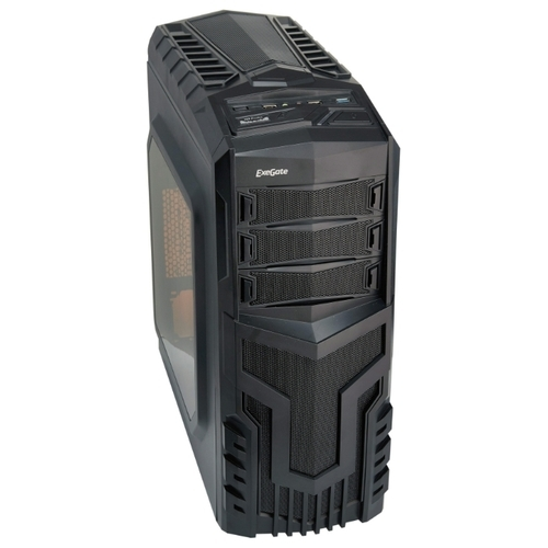 Компьютерный корпус ExeGate EVO-8204N 700W Black