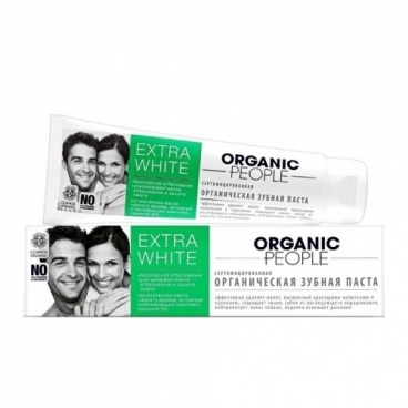 Зубная паста Organic People Extra White