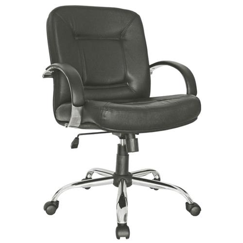 Компьютерное кресло Мирэй Групп Сенатор хром короткий офисное