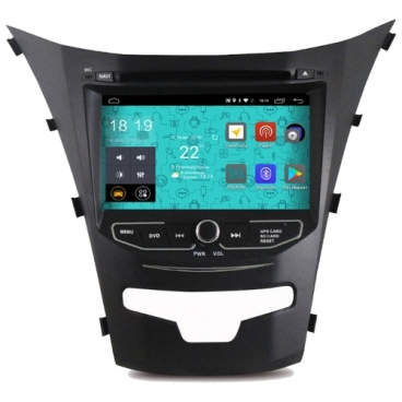 Автомагнитола Parafar 4G/LTE Ssang Yong Actyon 2013+ DVD Android 7.1.1 (PF355D)