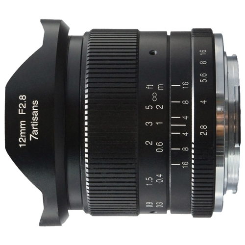 Объектив 7artisans 12mm f/2.8 Canon M