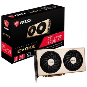 Видеокарта MSI Radeon RX 5700 XT 1630MHz PCI-E 4.0 8192MB 14000MHz 256 bit 3xDisplayPort HDMI HDCP EVOKE