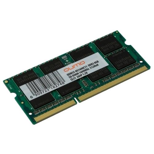 Оперативная память 8 ГБ 1 шт. Qumo QUM3S-8G1600C11