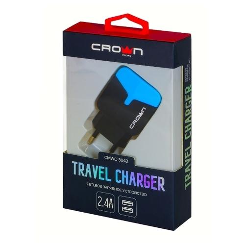 Сетевая зарядка CROWN MICRO CMWC-3042