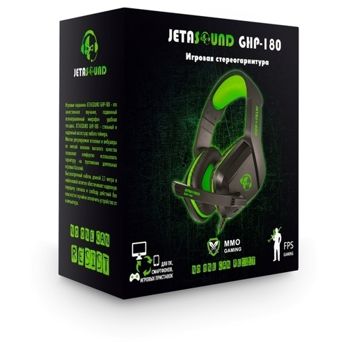 Компьютерная гарнитура Jet.A GHP-180