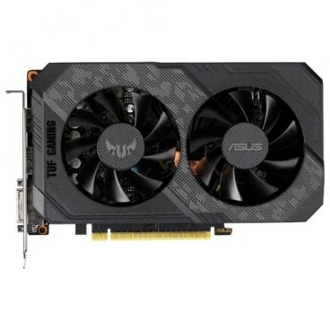 Видеокарта ASUS TUF GeForce GTX 1660 Ti 1500MHz PCI-E 3.0 6144MB 12002MHz 192 bit DVI 2xHDMI DisplayPort HDCP Gaming OC