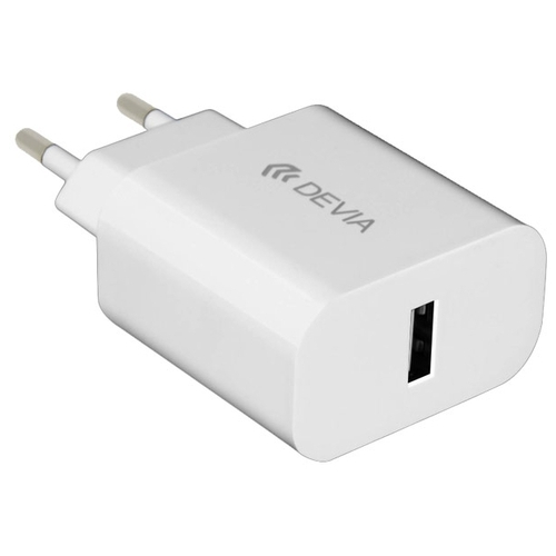 Сетевая зарядка Devia Smart Charger Suit + micro-USB