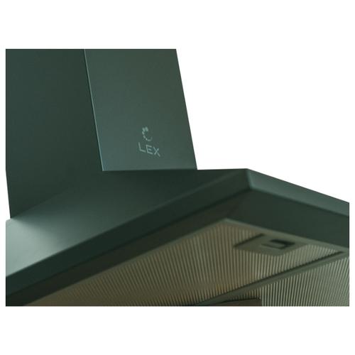 Каминная вытяжка LEX BASIC 600 black