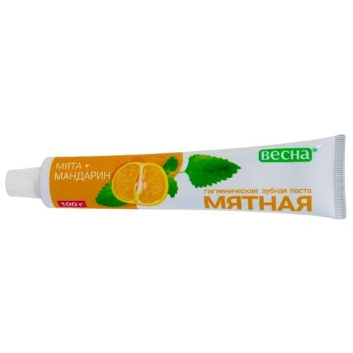 Зубная паста Весна Мята + Мандарин