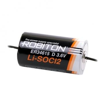 Батарейка ROBITON ER34615-AX с аксиальными выводами PH1