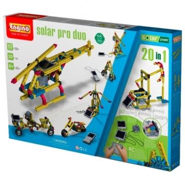 Электромеханический конструктор ENGINO Solar Power S30 Solar Pro Duo 20in1