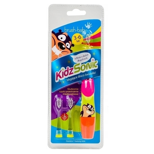 Электрическая зубная щетка Brush Baby KidzSonic (3-6 лет)