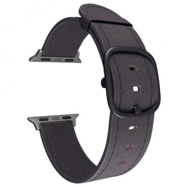 Lyambda Кожаный ремешок Minkar для Apple Watch 38/40 mm (DSP-03)