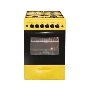 Плита Лысьва ЭГ 401 МС желтый