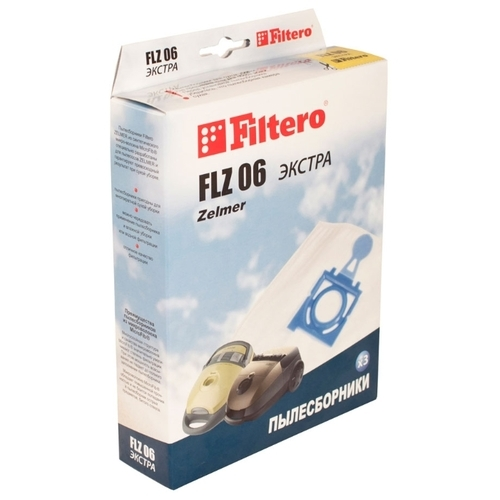 Filtero Мешки-пылесборники FLZ 06 Экстра