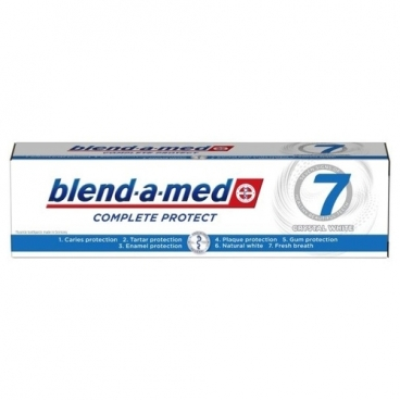 Зубная паста Blend-a-med Complete Protect 7 Crystal White