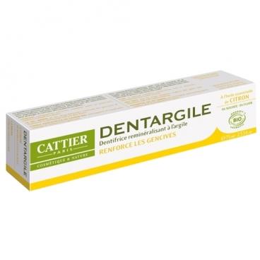 Зубная паста Cattier Дентаржиль Лимонная