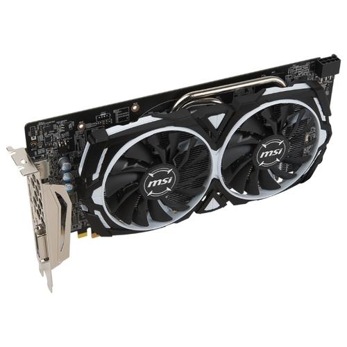 Видеокарта MSI Radeon RX 580 1340Mhz PCI-E 3.0 8192Mb 8000Mhz 256 bit DVI 2xHDMI HDCP Armor